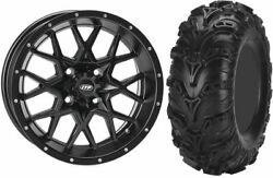 Mounted Wheel And Tire Kit Wheel 14x7 4+3 4/156 Tire 27x11-14 6 Ply