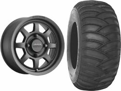 Mounted Wheel And Tire Kit Wheel 15x10 6+4 4/136 Tire 32x12-15 2 Ply