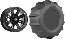 Mounted Wheel And Tire Kit Wheel 14x10 5+5 4/136 Tire 30x13-14 4 Ply