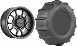 Mounted Wheel And Tire Kit Wheel 15x8 4+4 4/136 Tire 32x11-15 4 Ply