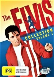 The Elvis Collection Volume 1 Dvd 4-movies Musicals Jailhouse Cousins Presley R4