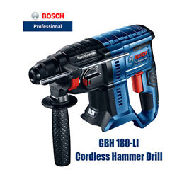 Bosch Gbh 180-li New Lithium Brushless Hammer 18v Percussion Drill Bare Metal
