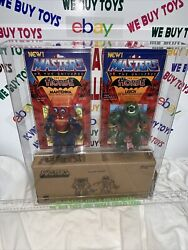 Vintage Motu Masters Of The Universe Leech And Mantenna Catalog Mailer 2 Pack Afa