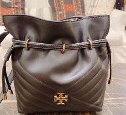 Tory burch Kira black bucket bag $289.00