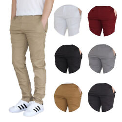 Menand039s Stretch Chino Pants 9 Colors