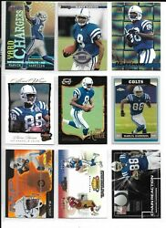 Huge Marvin Harrison 100 Card 90 Different Lot C Colts W/ 2 Rc