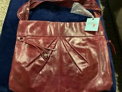 Hobo Bags Leather Purse New With Tags. Color Bordeaux Top Grain Leather $278.00 $149.99