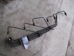 Oliver 77 Diesel Tractor Original Fuel Injection Lines To Injection Pump