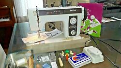 Heavy Duty Vintage Brother Model 2010 Sewing Machine P183p3