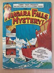 Tommy Trent Presents The Niagara Falls Mystery 1992 Activity Comic Book