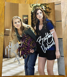 Brittany Underwood Kristen Alderson Signed 8x10 Photo One Life To Live A Must