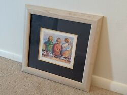 Very Nice Lucelle Raad Summer's End Signed And Numbered Lithograph Wall Art