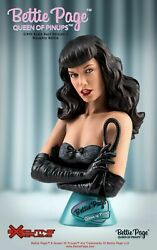 3/4 Tbleague Errb002 Queen Of Pinups Naughty Bettie Page V2 Bust Statue