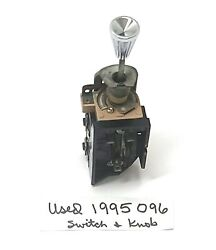 Used - As Pictured 58-63 Corvette 57-63 Chevy Headlight Switch 1995096 And Knob
