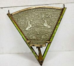 Vintage Old Unique Handmade Brass / White Metal Heritage/royal Horse Drawn Parts