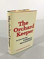 The Orchard Keeper Cormack Mccarthy First Edition First Print Ex. Library 1965