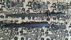 Wwii Czech Csz Vz-24 / German K-98 Bayonet And Metal Scabbard