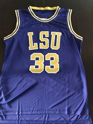 Mens Large Vintage Shaquille Oneal Lsu Tigers Ncaa Basketball Jersey