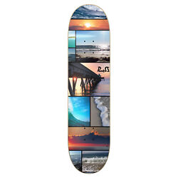 Yocaher Graphic Seaside Skateboard Deck - Deck Only