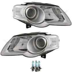 Headlight Set Right And Left H7/h7 For Vw Passat Variant 3c5 3c2 Incl. Lamps
