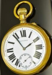 Antique Longings Chronometer Watch For Serbian Royal Postandtelegraph Office Watch