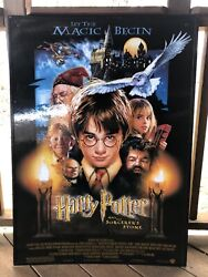Harry Potter And The Sorcers Stone Promotional Poster