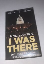 I Was There Obama Inauguration Night Time Rectangle Button - 1-3/4 X 2-3/4 2