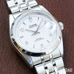 Tudor Ref.74000n Cal.2824-2 Discontinued Date Ss Automatic Mens Watch