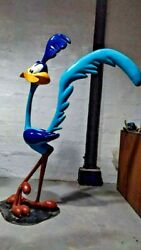 Rn Bird Runner Life Size Statue Resin Painted