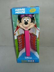 Giant Collectible Disney Minnie Mouse Pez Dispenser With Music New