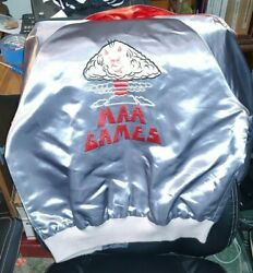 Official War Games 1983 Vintage Hand Embroidered Movie Crew Jacket