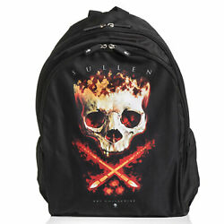 Sullen Men#x27;s Downtown Dominic Backpack Bag Black Accessories Travel Tattooed ... $37.99