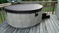 Custom Hot Tub Cover - 4/2 Taper 1 - Most Models - Upgraded Liner Included