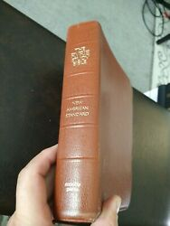 Nasb Ryrie Study Bible Top Grain Cowhide Leather