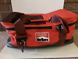 Marlboro Unlimited Gear Large Red Divided Cooler Bag Duffel 20 X 8 X 9.5