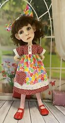 Vintage Eyelet Valentines Outfit For Connie Lowe Big Stella, Meili And Hazel
