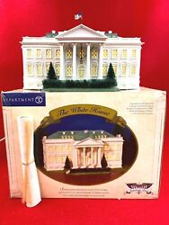 Dept 56 The White House American Pride Collection 57701 Excellent Condition