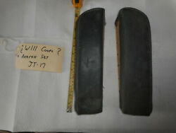 Mercedes Benz W111 W112 Two Door Coupe Rear Seat Armrest Set Left Right A