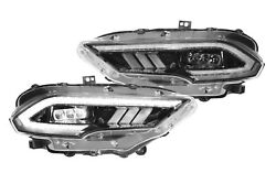 Morimoto Xb Led Projector Headlights For 2018-2021 Ford Mustang