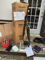 Vintage 1920s Antique Hoover Up Right Vacuum Cleaner Model 541 Movie Prop Look