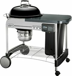 Weber - 22 In. Performer Deluxe Charcoal Grill - Black
