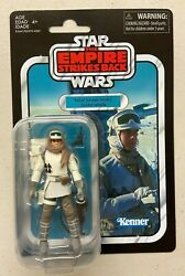 Star Wars Tvc Vintage Collection 3 3/4 Hoth Rebel Soldier Figure Moc Empire
