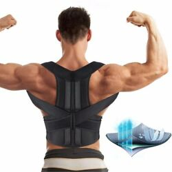 Back Brace Posture Corrector for Women and Men Back Lumbar Support Shoulder for $16.22