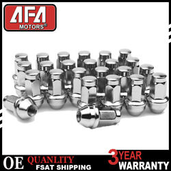 M14x2.0 Factory Oem Stainless Lug Nuts 24pc For Ford F150 Expedition 4l3z1012a