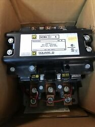 Square D 8502sg02v06 Size 5 Contactor Series B New In Box