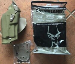 Safariland Rds Glock 19/23 Holster Paddle And Belt Attachment 6378-2832-751