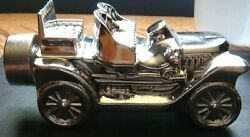 Avon VINTAGE quot;Stanley Steamerquot; DEEP WOODS After Shave Car W Box FULL SILVER