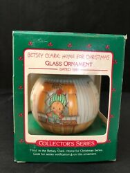 Hallmark Ornament - Third In The Betsy Clark Home For The Holidays Series 1988
