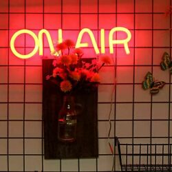 Led Neon Sign Light On Air Letter Bar Club Wall Lamp Home Decoration Lightweight