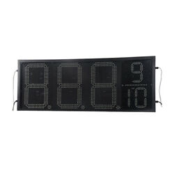 16 Led Gas Station Electronic Fuel Price Sign 88889